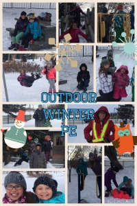 Winter pic collage
